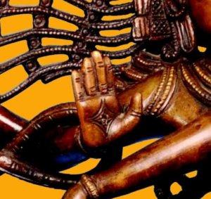 Abhaya-Mudra Shiva