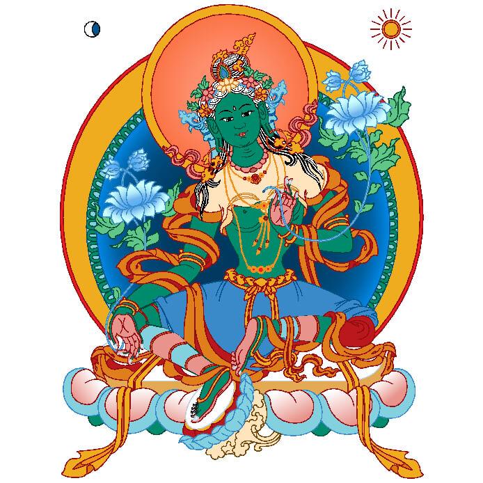 Green Tara Tantra · kaschmirisches Tantra